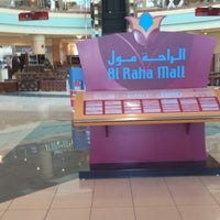 Photo taken at Al Raha Mall by Sasuke S. on 6/27/2013