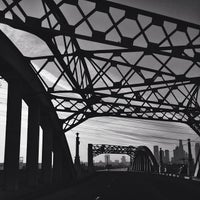 Photo taken at Sixth Street Bridge by Neph T. on 1/15/2014