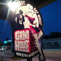 Photo taken at Grindhouse Killer Burgers by Yeeun T. on 10/6/2012