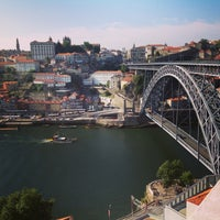 Photo taken at Ponte Dom Luís I by Ilya A. on 7/21/2013