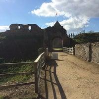 Photo taken at Castle Rising Castle by Beatričė P. on 4/17/2016