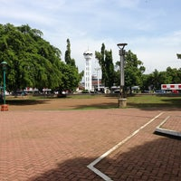 Photo taken at Alun - Alun Pemalang by Toni B. on 7/5/2013