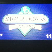 Photo taken at Batavia Downs Gaming by Johnny M. on 9/17/2013