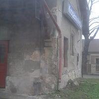 Photo taken at Železniční stanice Kropáčova Vrutice by Gabi on 11/23/2014