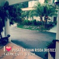 Photo taken at Pusat Latihan RISDA (RISTEC) by Saiful Amre A. on 2/4/2013