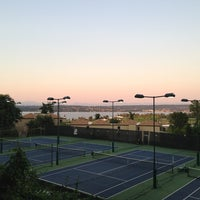 Photo taken at SPCC Tennis Courts by Felice L. on 7/2/2013