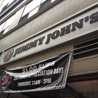 Photo taken at Jimmy John's by Felice L. on 10/11/2012