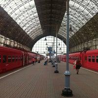 Photo taken at Kievsky Rail Terminal by Milana L. on 7/24/2013
