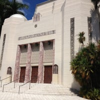 Photo taken at Temple Emanu-El by Samuel B. on 9/28/2012