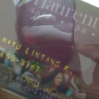 Photo taken at Flaurent Salon and Spa by Hayu L. on 6/8/2013