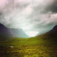 Photo taken at Glencoe Visitors Centre by KevinHunter A. on 8/1/2015