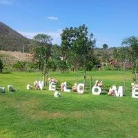 Photo taken at Banrai Jomthong Resort & Camping by Thargoon S. on 12/30/2012