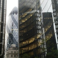 Photo taken at Lloyd's of London by Ember on 6/28/2013