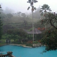Photo taken at Ciater Highland Resort by Didi M. on 12/20/2014