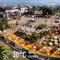 Photo taken at Parque del Resurgimiento by Ricardo R. on 12/7/2013