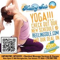 Photo taken at Heeling Sole Barefoot Massage & Yoga by Heeling Sole Barefoot Massage & Yoga on 8/28/2014