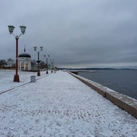 Photo taken at Морской причал by Markizon on 1/7/2014