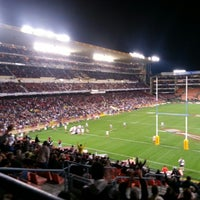 Photo taken at Newlands Rugby Stadium by Karl L. on 6/29/2013