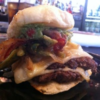 Photo taken at Zombie Burger + Drink Lab by Adam W. on 11/2/2012