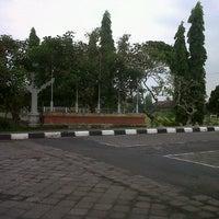 Photo taken at Lapangan Kapten Mudita Bangli by Dinary C. on 3/30/2013