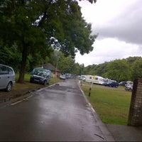 Photo taken at Cardiff Caravan Park by Abeer on 8/6/2013