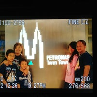 Photo taken at KLCC  Twin Tower by Teresia P. on 6/17/2013