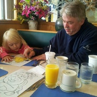 Photo taken at Omicron Family Restaurant by Carrie W. on 7/27/2013