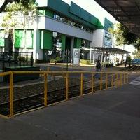 Photo taken at Andén Tren Urbano (Universidad Latina) by John F. on 2/6/2015