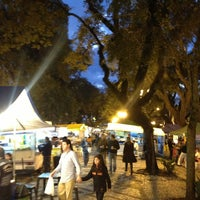 Photo taken at Feira Noturna do Champagnat by João Paulo D. on 6/28/2013