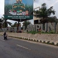 Photo taken at Bandara Radin Inten II Lampung Selatan (TKG) by Mukhtar Ali M. on 11/11/2013