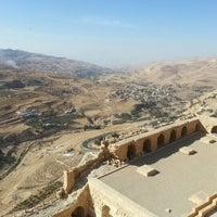 Photo taken at Karak Castle قلعة الكرك by Christian R. on 10/29/2012