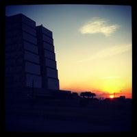 Photo taken at Faro a Colón by Beto R. on 1/6/2013