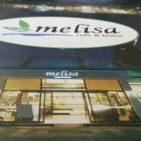 Photo taken at Melisa Cafe & Bistro by Sinem on 8/15/2013
