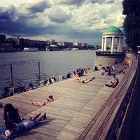 Photo taken at Gorky Park by Irina B. on 7/22/2013