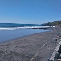 Photo taken at Playa El Zonte by Patricia V. on 2/28/2016
