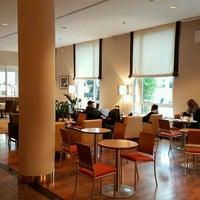 Photo taken at Hilton Munich City by André D. on 11/13/2016