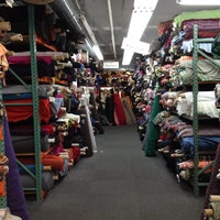 Photo taken at Mood Designer Fabrics by Jaemason on 5/18/2013