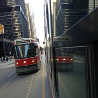 Photo taken at TTC Streetcar #504 King St by Mike D. on 7/26/2013