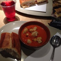 Photo taken at Panera Bread by Candice S. on 4/17/2014