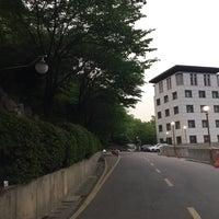 Photo taken at Yonsei University Samsung Library by Eunse L. on 5/6/2015