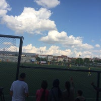 Photo taken at Abdurrahman Temel Futbol Sahası by TC Özcan S. on 5/29/2016