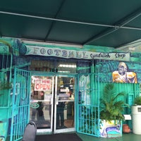 Photo taken at Football Sandwich Shop by Haitian H. on 1/12/2016