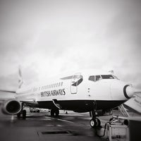 Photo taken at Jersey Airport (JER) by Steve O. on 12/21/2012
