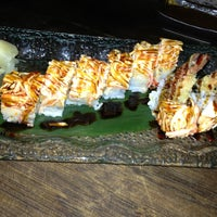 Photo taken at Sushi-O by Haley Toyota C. on 10/4/2013