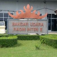 Photo taken at Bandara Radin Inten II Lampung Selatan (TKG) by Hendrik L. on 2/12/2013