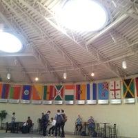 Photo taken at World Prayer Center by Abbey O. on 9/17/2013