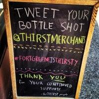 Photo taken at Thirst Wine Merchants by Thirst Wine Merchants on 7/4/2013