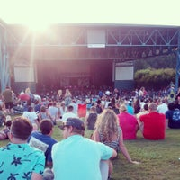 Photo taken at Veterans United Home Loans Amphitheater at Virginia Beach by Allison R. on 7/27/2013