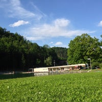 Photo taken at Bad Weihermühle by Sri N. on 6/22/2014