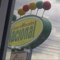 Photo taken at Supermercados Nacional by Jean C. on 9/30/2013